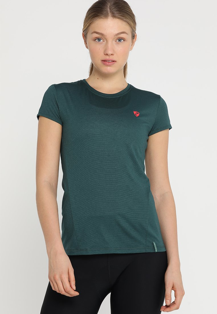 Ziener - NARILU LADY - T-shirts print - spruce green