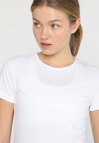 Ziener - ROSL - T-shirt med print - white - 3