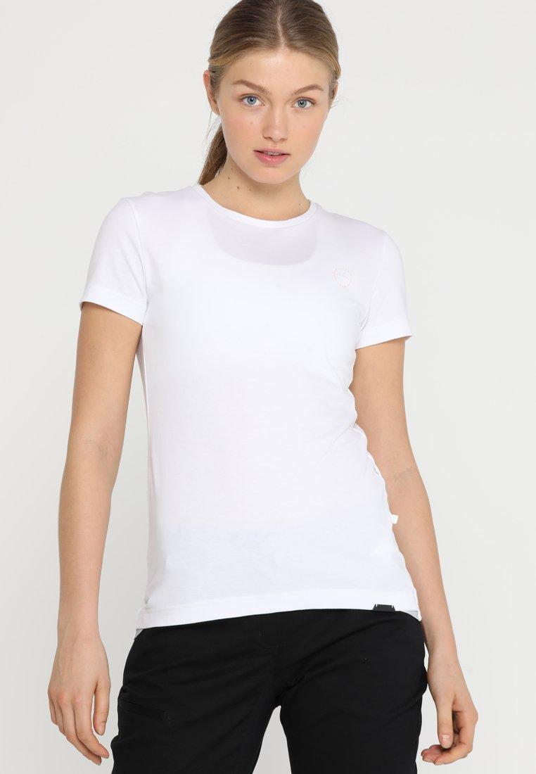 Ziener - ROSL - T-shirt med print - white