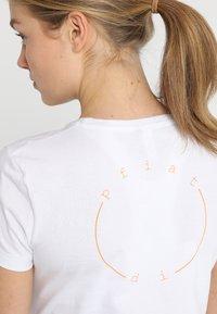 Ziener - ROSL - T-shirt med print - white - 4