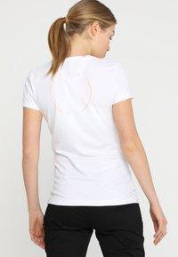 Ziener - ROSL - T-shirt med print - white - 2