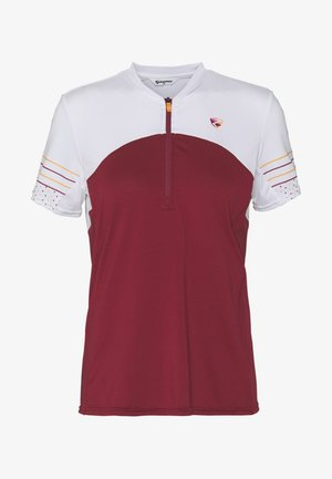 NEYA - T-shirts print - cassis