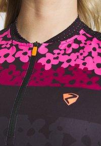 Ziener - NELSA - Print T-shirt - black/pink - 4