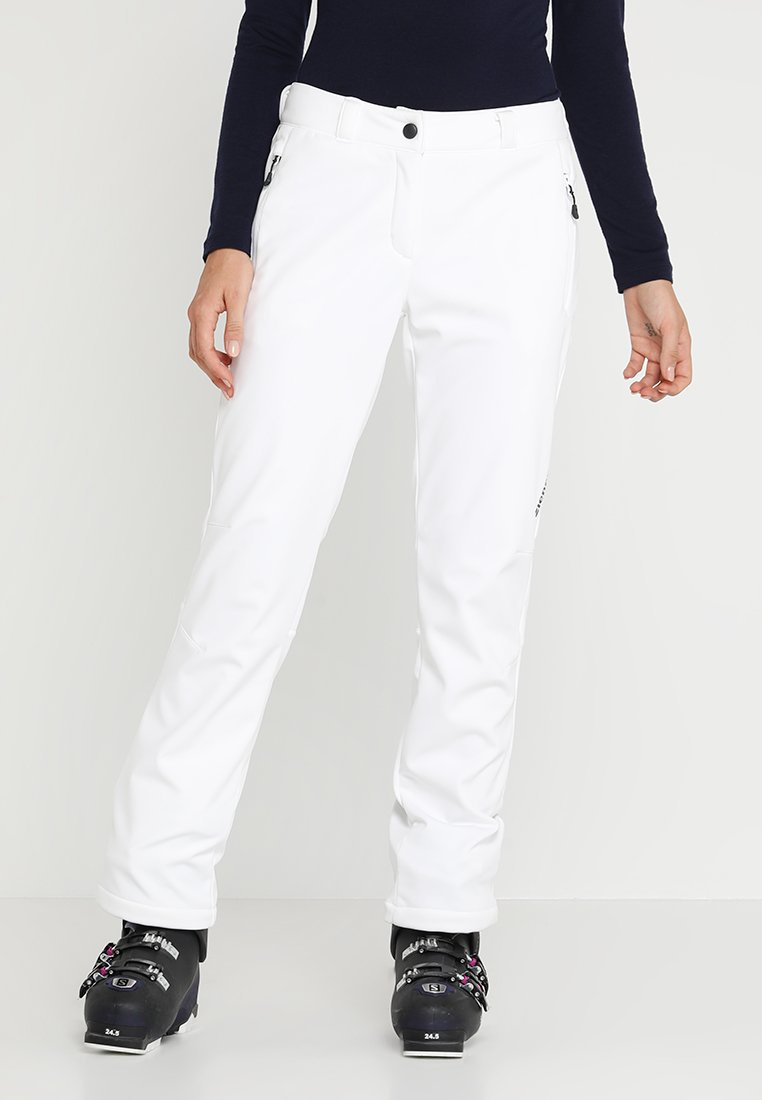 Ziener - TALPA LADY  - Stoffhose - white