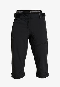 Ziener - CRISTALINA X FUNCTION LADY - 3/4 Sporthose - black - 6