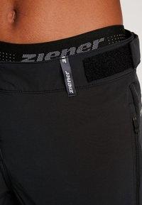 Ziener - CRISTALINA X FUNCTION LADY - 3/4 Sporthose - black - 4