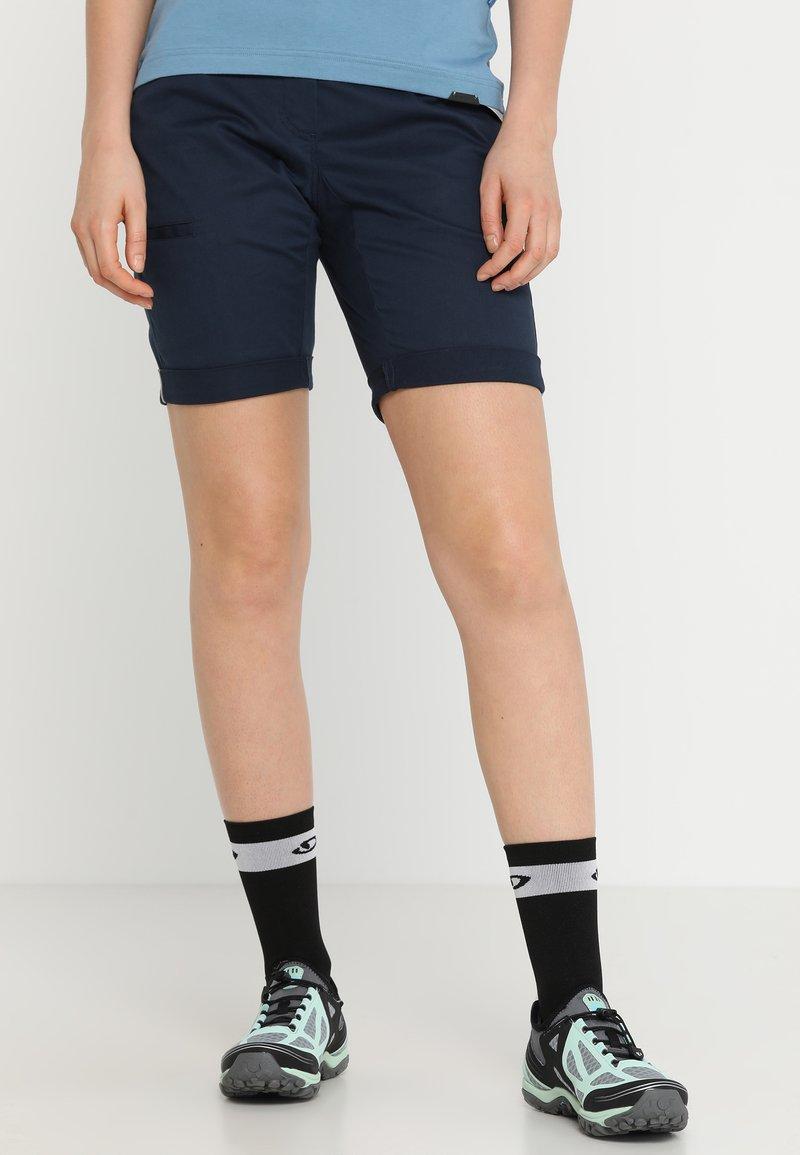 Ziener - ROYA LADY SHORTS - Pantalón corto de deporte - antique blue