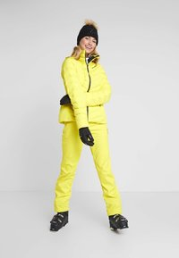 Ziener - TALPA LADY - Pantaloni da neve - yellow power - 1