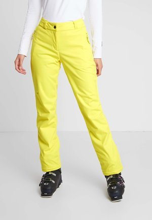 TALPA LADY - Snow pants - yellow power