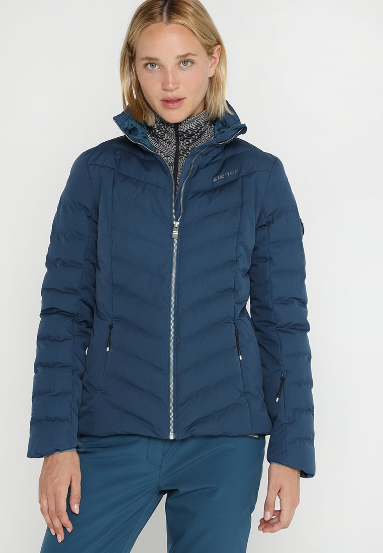Ziener - TALMA LADY  - Chaqueta de esquí - methyl blue