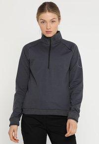 Ziener - RIEKE - Sweatshirt - ebony - 0