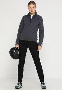 Ziener - RIEKE - Sweatshirt - ebony - 1
