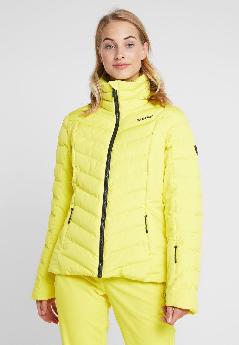 Ziener - TALMA LADY - Ski jacket - yellow power