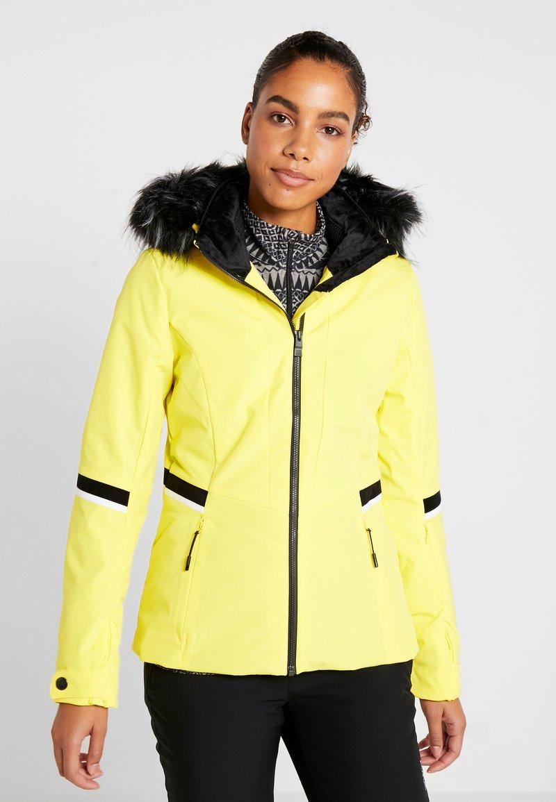 Ziener - TOYAH LADY - Chaqueta de esquí - yellow power