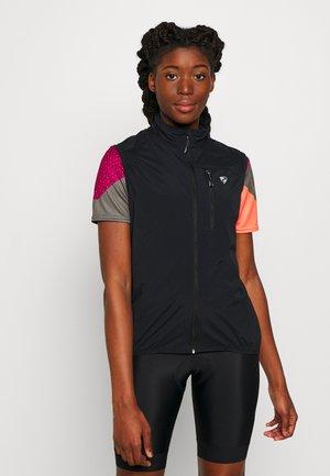 NORTRUN - Vest - black