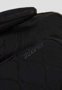 Ziener - KRISTY MITTEN LADY GLOVE - Moufles - black - 4