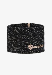 Ziener - INNERK BAND - Cache-oreilles - black/light rose - 3