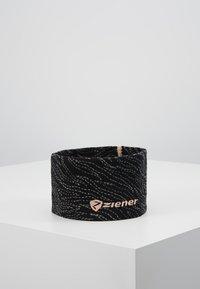 Ziener - INNERK BAND - Cache-oreilles - black/light rose - 0