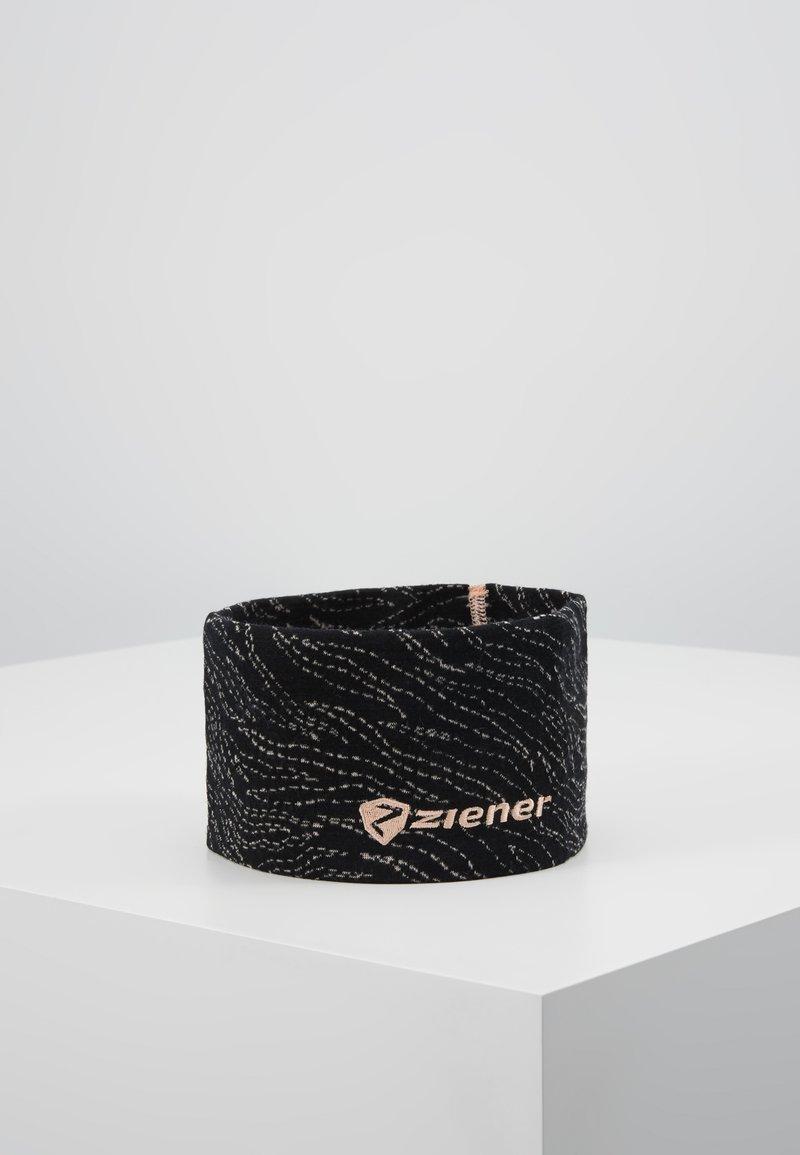 Ziener - INNERK BAND - Cache-oreilles - black/light rose