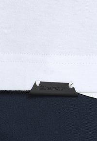 Ziener - RICKO - Camiseta estampada - white - 6