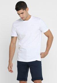 Ziener - RICKO - Camiseta estampada - white - 0
