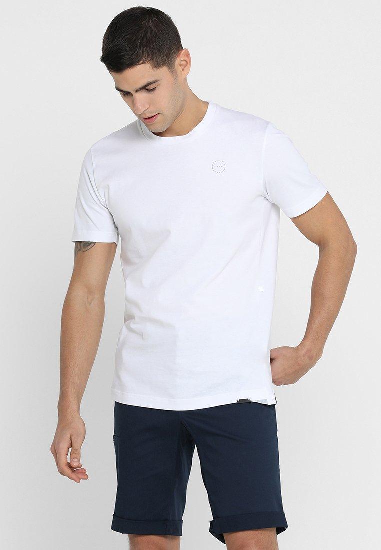 Ziener - RICKO - Camiseta estampada - white