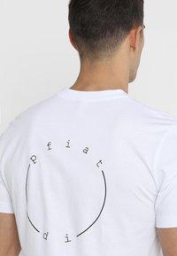 Ziener - RICKO - Camiseta estampada - white - 4