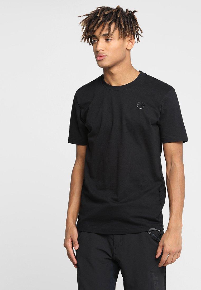 Ziener - RICKO - Camiseta estampada - black