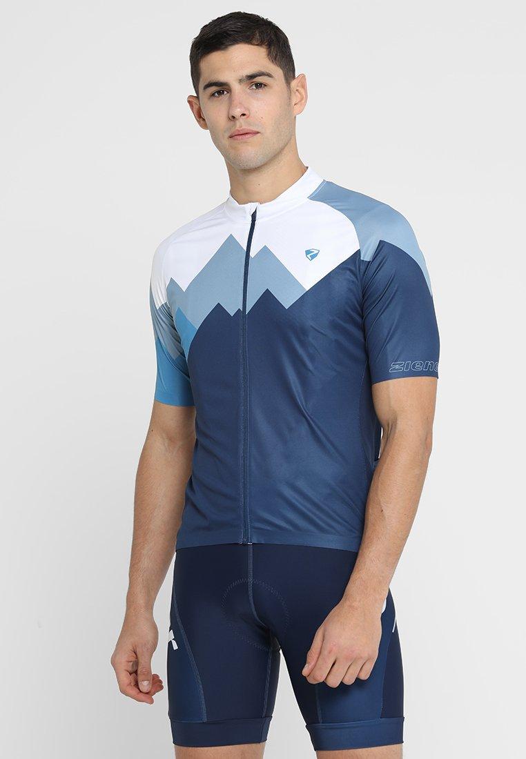 Ziener - EDIL MAN - T-shirts print - antique blue