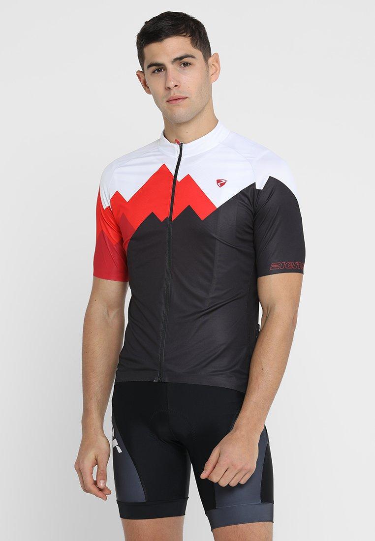 Ziener - EDIL MAN - T-Shirt print - black