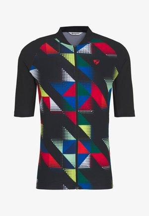 NIKOLEI - Print T-shirt - black