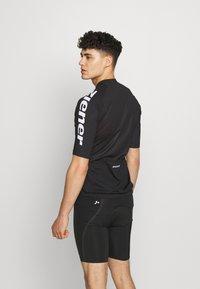 Ziener - NIKOLEI - T-Shirt print - black - 2