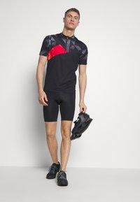 Ziener - NEPUMUK - T-Shirt print - black - 1