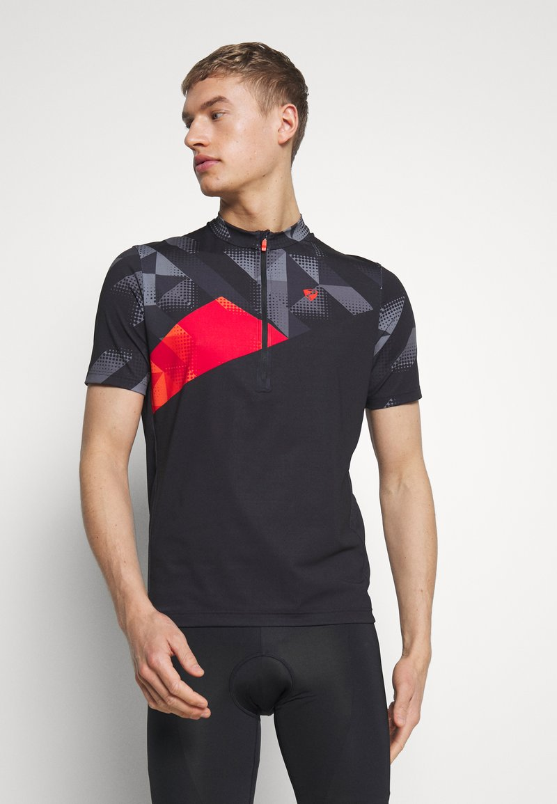 Ziener - NEPUMUK - T-Shirt print - black