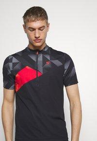 Ziener - NEPUMUK - T-Shirt print - black - 5