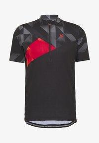 Ziener - NEPUMUK - T-Shirt print - black - 4