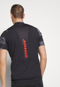 Ziener - NEPUMUK - T-Shirt print - black - 3