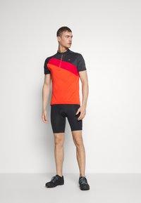 Ziener - NELIH - T-Shirt print - new red - 1
