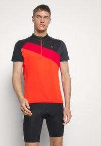 Ziener - NELIH - T-Shirt print - new red - 0