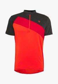 Ziener - NELIH - T-Shirt print - new red - 4
