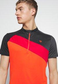 Ziener - NELIH - T-Shirt print - new red - 3
