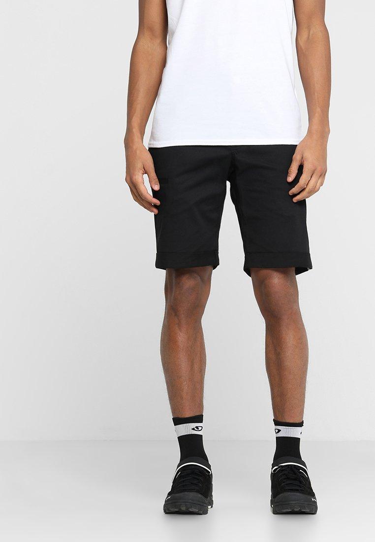 Ziener - RAFO MAN - Korte sportsbukser - black