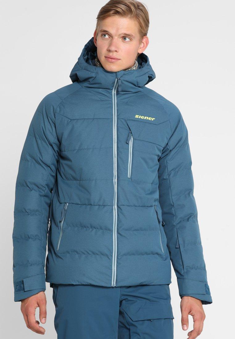 Ziener - TAYFUN MAN JACKET ALLMOUNTAIN - Ski jacket - methyl blue melange