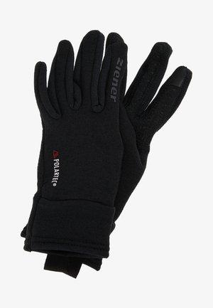 IDIWOOL TOUCH GLOVE MULTISPORT - Gloves - black