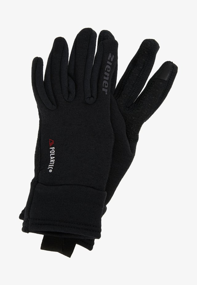 IDIWOOL TOUCH GLOVE MULTISPORT - Fingerhandschuh - black