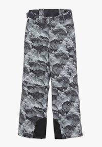 Ziener - ANDO JUNIOR - Zimní kalhoty - grey mountain - 2