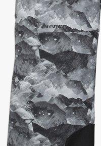 Ziener - ANDO JUNIOR - Schneehose - grey mountain - 3