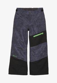 Ziener - AYULES JUNIOR - Zimní kalhoty - grey night - 3