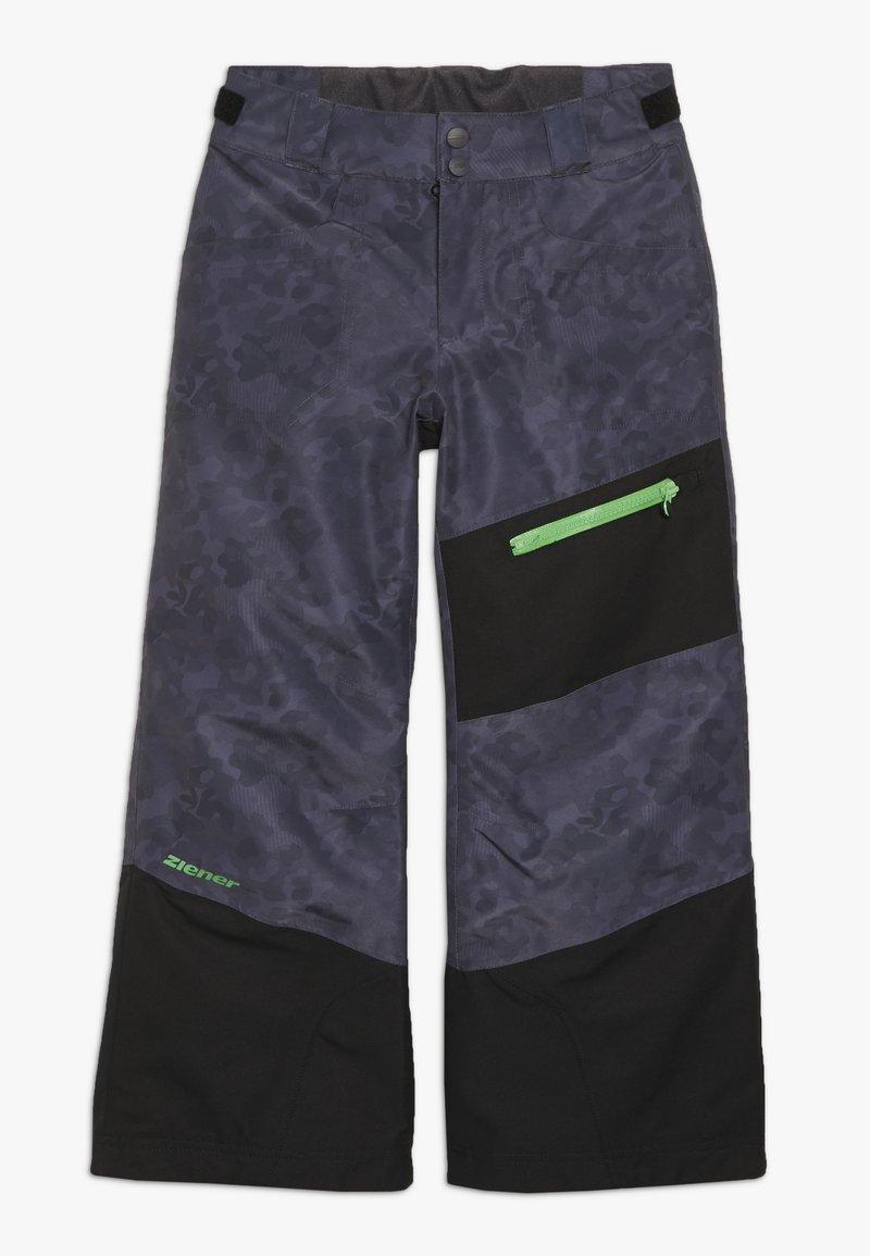 Ziener - AYULES JUNIOR - Zimní kalhoty - grey night
