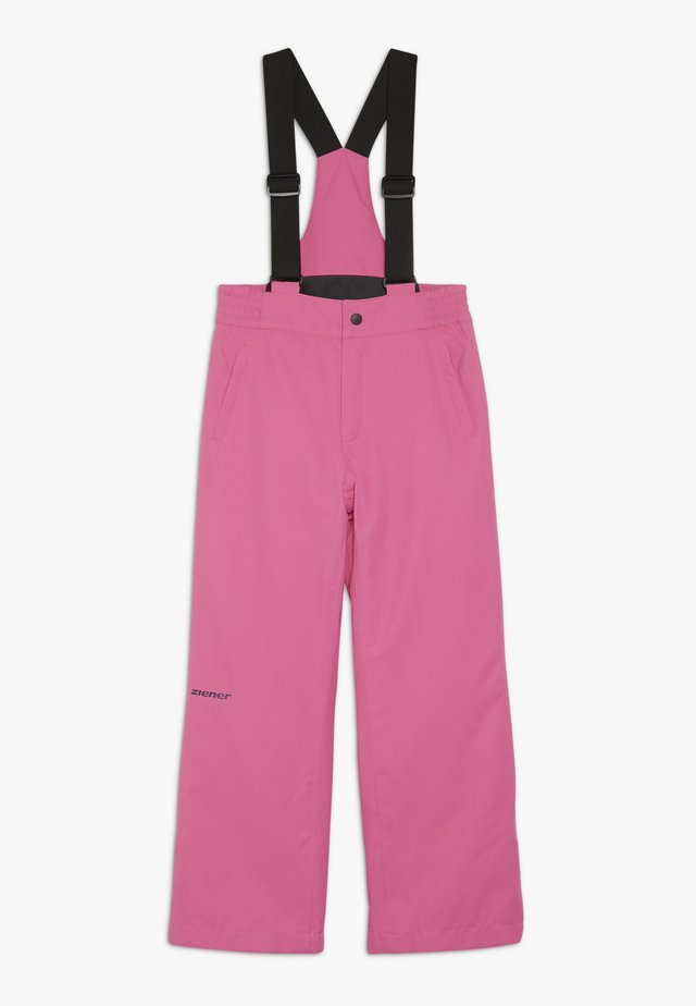 ALENKO JUNIOR - Snow pants - pink dahlia